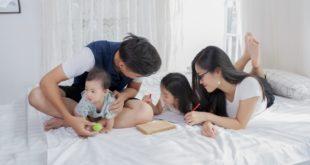 子育て世代の家族